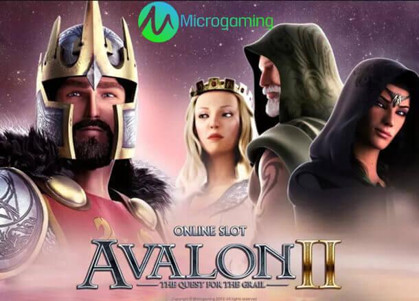 Výherní automat Avalon II (Microgaming)
