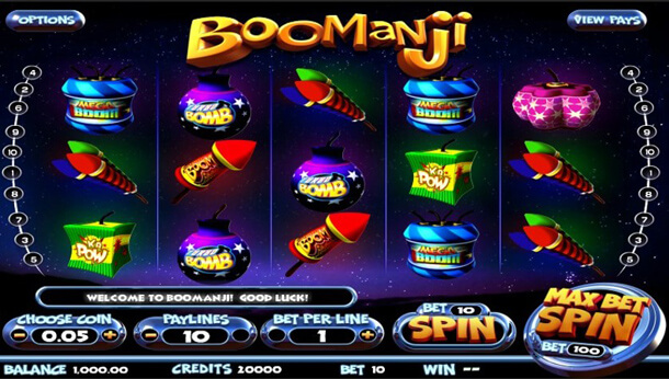 Gameplay - casino automat Boomanji (Betsoft)
