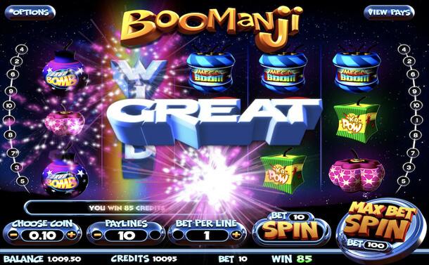 Gameplay - Výherní automat Boomanji (Betsoft)