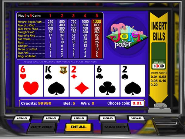 Betsoft nanabízí pouze výherní automaty, ale například i video poker hry