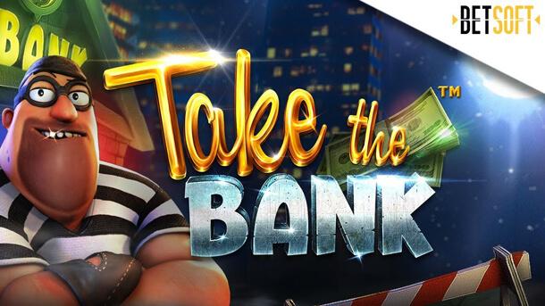 Výherní automat Take the Bank od Betsoftu