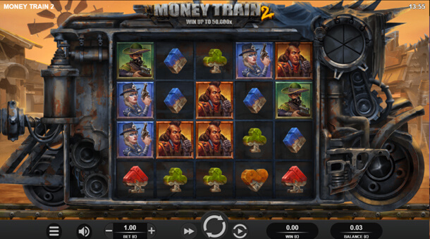 Gameplay - Výherní automat Money Train 2 (Relax Gaming)