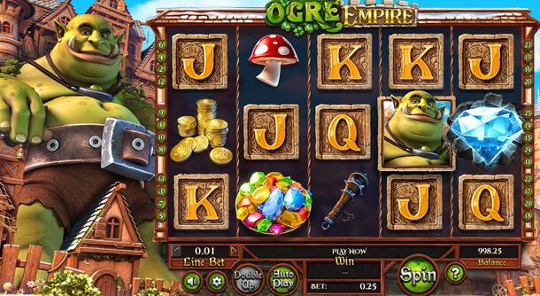 Hrát zdarma výherní automat Orge Empire (Betsoft)